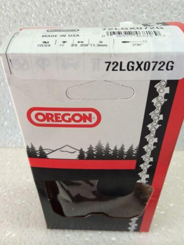 """Lot de 3 Oregon 72LGX072G Tronçonneuse Chaîne 20/"""" 3//8 .050 72 Lecteur Liens"""