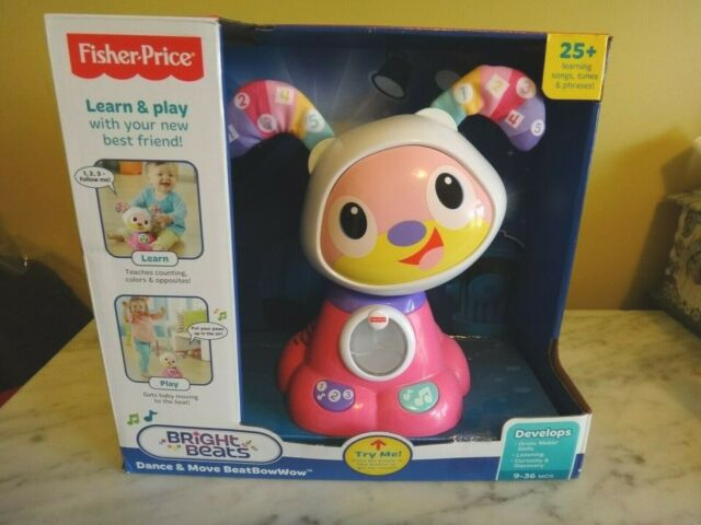 Bright Beats Dance & Move Beat Puppy Bow Wow Pink by Fisher Price **NIB**