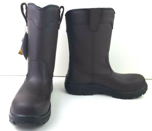 dba34a8f8e4 Avenger Men's Waterproof Wellington EH Work Boot Composite Toe US ...