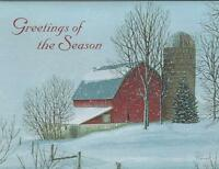 Lang Christmas Cards, 6 Boxes Of 21, 126 Cards, Christmas Vacation (111)