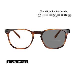 Transition-Photochromic-Bifocal-Retro-Optical-Reading-Glasses-Hyperopia-Reader