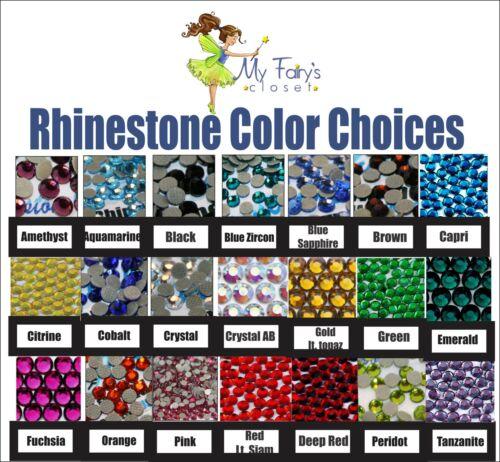 Choice of Minnie First Disney Trip iron on rhinestone transfer bling patch