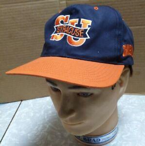 Vintage-SYRACUSE-ORANGEMEN-90s-Twins-Enterprises-Hat-Cap-Snapback-NCAA-all-over