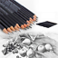 14Pcs  Set of Sketch Art Drawing Pencil 6H-12B Sketching Pencils