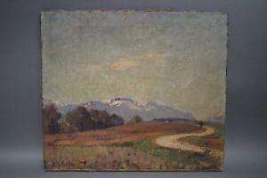 Alfred SCHMIDT ( Dresden 1867-1956 Stuttgart) - Kampenwand am Chiemsee