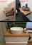 Indexbild 5 - Waschtisch Eiche Holzplatte massiv Holz Aufsatzbecken Naturkante Zuschnitt geölt