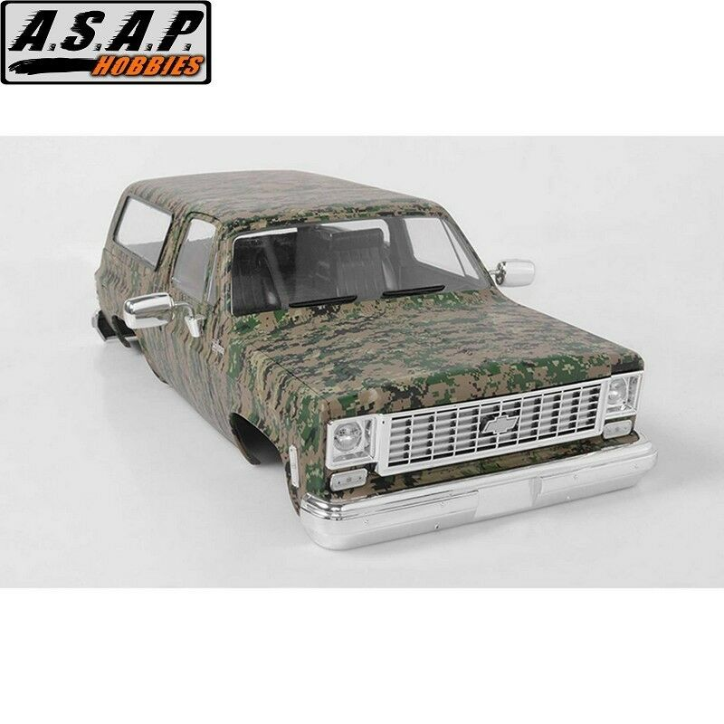 Rc4wd Z-B0147 Chevrolet Blazer Rigida Corpo Set Digital Camo
