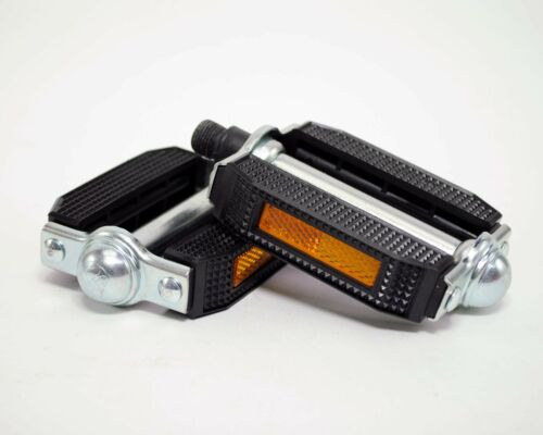 """Retro//Vintage//Classic Road Bike Old School Bicycle Block Pedals 9//16/"""""""