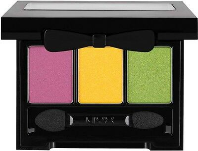 NYX Love in Rio Eyeshadow Palette-LIR04 Purple/shimmery yellow/shimmery lime