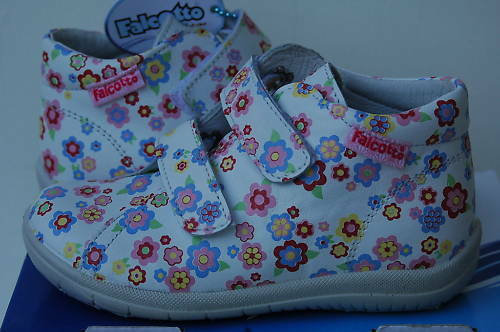 Bébé 20 609 Boots Falcotto Fleurs Première Chaussures New Naturino Fille Baskets 1q66RO