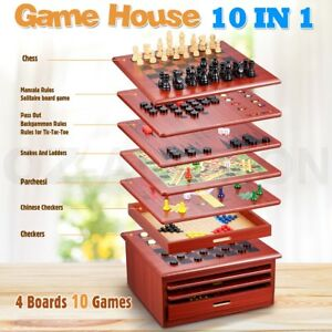 10in1-Wooden-Chess-Board-Games-House-Set-Toy-Backgammon-Checkers-Snakes-Ladders