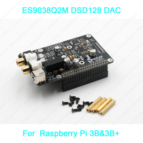 ES9038 ES9038Q2M Mini DSD DAC For Raspberry Pi 2B 3B/&3B Digital Network Player