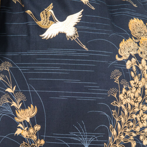marina giapponese stampa breve giapponese Kimono qRa6pw