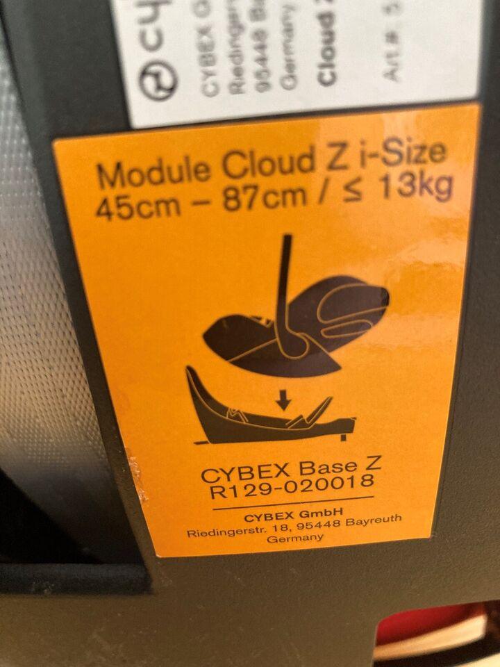 Cybex autostol <13 kg i rød.