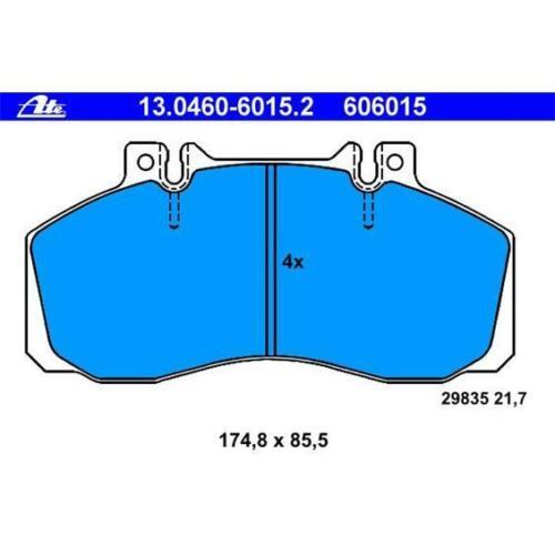 Original ATE 13.0460-6015.2 Bremsbeläge Bremsbelagsatz vorne für MERCEDES-BENZ