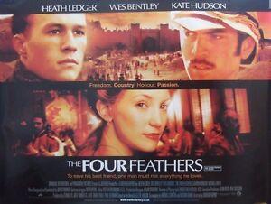 Heath Ledger THE FOUR FEATHERS(2002)Original UK quad ...
