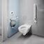 miniatura 4 - Wand WC für barrierefreies Bad mit 70 cm Ausladung GEBERIT KERAMAG KOLO