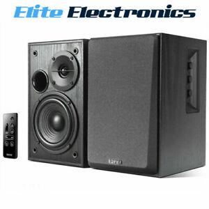 Edifier-R1580MB-2-0-Lifestyle-Active-Bookshelf-Bluetooth-Studio-Speakers-Black