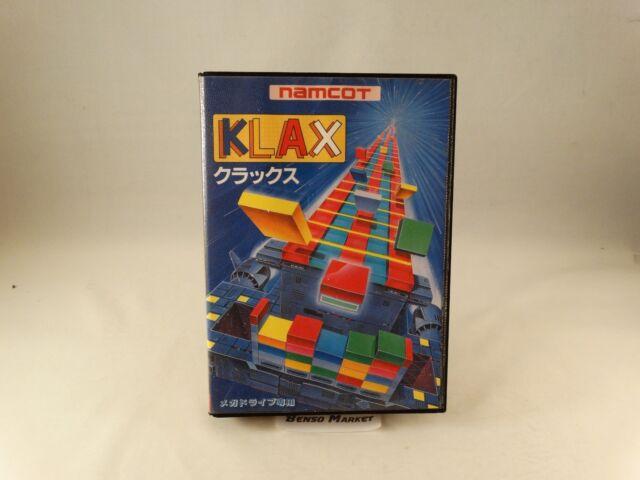 KLAX - SEGA MEGA DRIVE 16 BIT GIAPPONESE - IMPORT NTSC-J JAP JP - COMPLETO