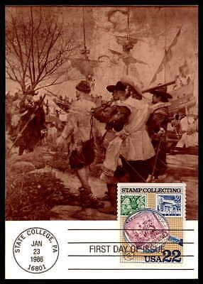 Post & Kommunikation Logisch Usa Mk Briefmarken Sammeln Stamp Collecting Maximumkarte Maximum Card Mc Cm Dd29