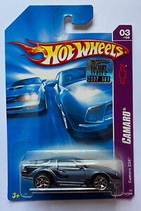 2007 HOTWHEELS Chevy Camaro soffiato Z28 MOLTO RARA! Nuovo di zecca!