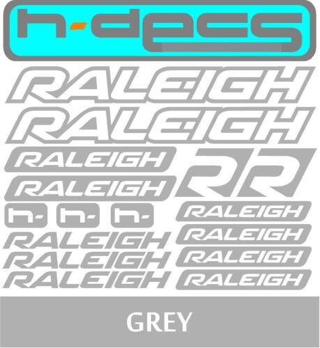 stickers, cycling, mtb, bmx, road, bike Raleigh T1 Die-cut decal sheet.
