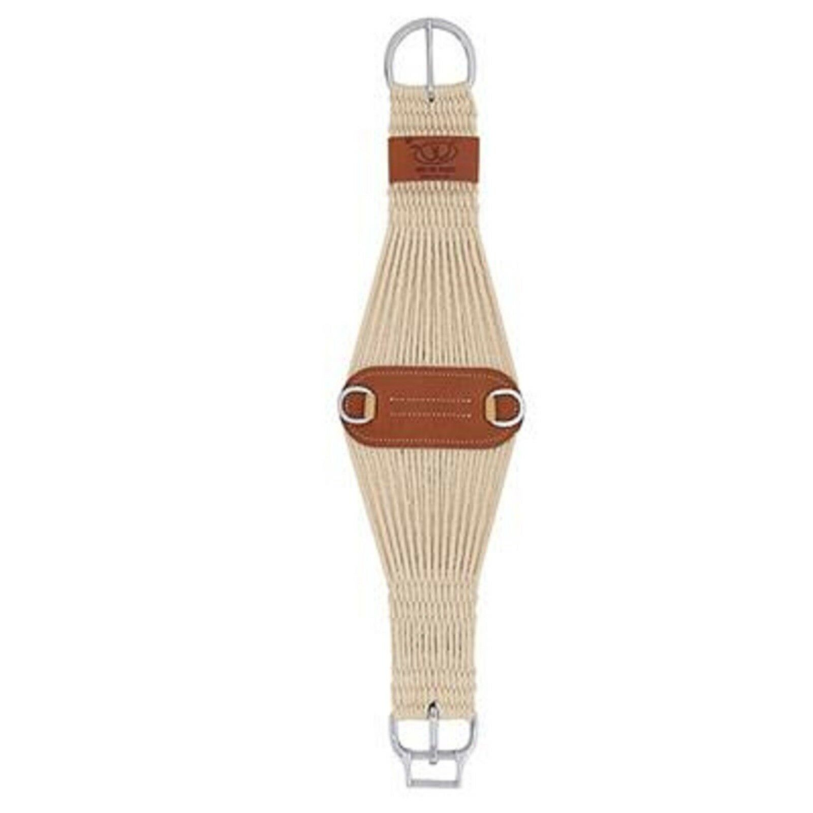 Weaver naturel mélangé 27 Strand Roper Smart Cinch ® avec rouleau Douillet ® Cinch Boucle