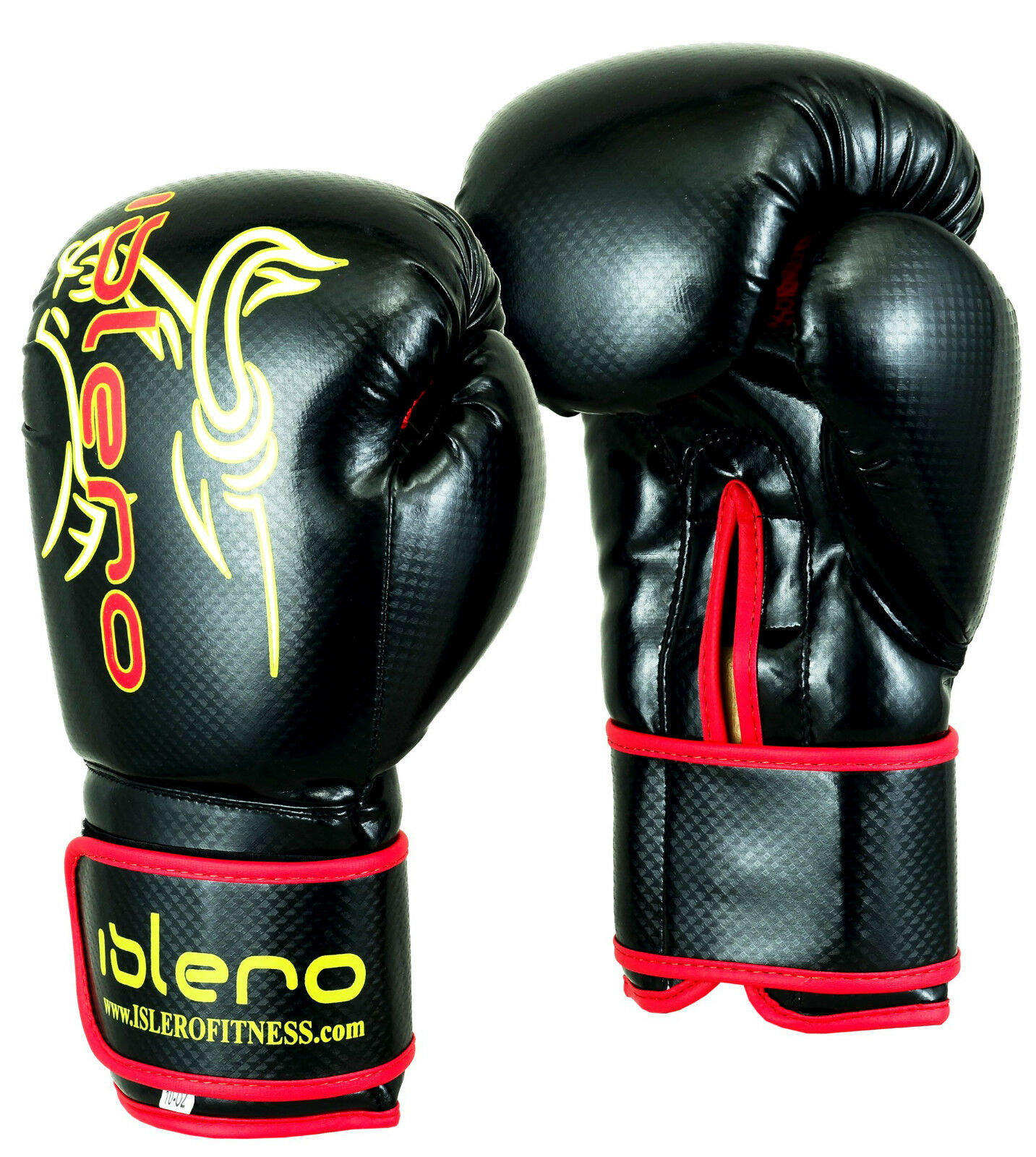 EVO MAYA Leather Boxing Gloves MMA Punch Bag Sparring Kick ...