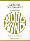 W.A. Mozart: Divertimento No.2 K.439b (Clarinet/Piano) by Chester Music (Paperback, 2000)