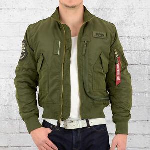 Details about Alpha Industries Engine Men ma1 Pilot Jacket Olive Bomber Jacket Men Dark Green show original title