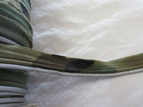 """3//4/"""" CAMO Piping Cord Trim with Double  Lips  ~ 2  yards"""