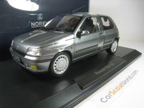 RENAULT CLIO 16V / 16S 1/18 NOREV (TUNGSTENE GREY)
