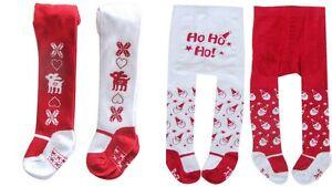 Rabatt Laufschuhe Sonderrabatt Details zu Baby Kinder Strumpfhose Weihnachten Winter Motive Christmas  Nikolaus Gr 56-80