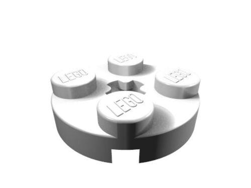 4032 20 x weiß neu LEGO Rundplatte 2 x 2 mit Achsloch
