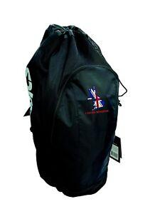 e3f71370413e Asics Gear Bag Backpack Sport Training Gear Bag ZR307 Black with ...