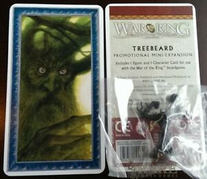 War-of-the-Ring-TREEBEARD-Mini-Expansion-Promo-Miniature-Figure-w-Cards-Ares-NEW