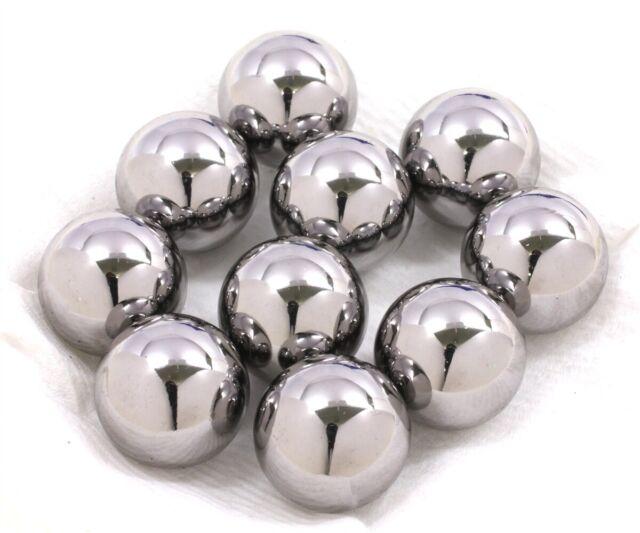 """10 Diameter Chrome Steel Bearing Balls 11//16/"""" G10 Ball Bearings"""