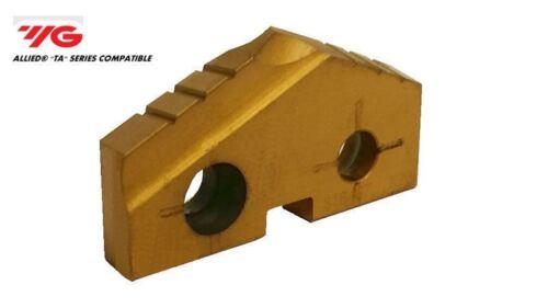 T15 NEW 0.8661 M22 YG1 Spade Drill Insert S06116 Tin Coated Super Cobalt