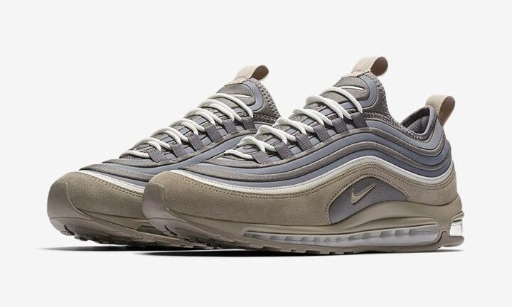 Unreleased Nike Air Max 97 Ultra SE Sample SZ 9 Wolf Gris Suede UL OG 924452-004