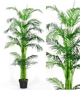 Palmetta areca 160 cm palma artificiale piante artificiali for Piante acquisto