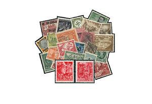Timbres-Empire-Allemand-Valeur-Collection-100-dans-le-Lot