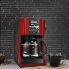 Best Coffee Maker Restaurant Commercial Mr Coffee 12 Cup Pot Programmable Red