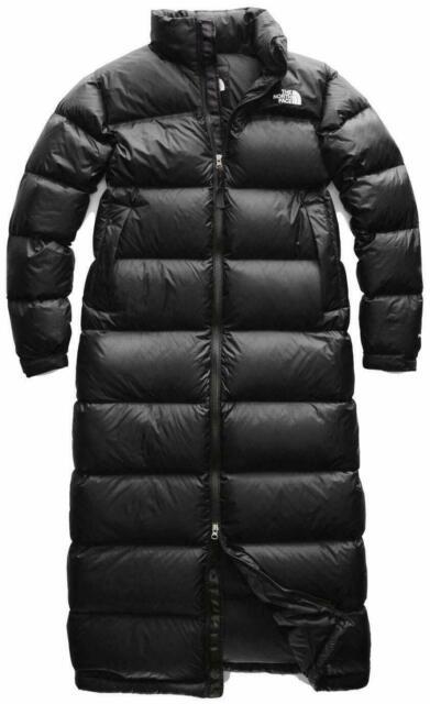 The North Face Nuptse Women S Duster Tnf Black For Sale Online Ebay