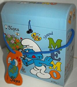 Smurfs-Memo-Game-36-Pieces-New-in-Box-For-Ages-3-and-up