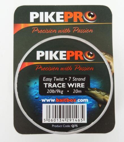 Pikepro Fishing Trace Wire 7 Strand 20m