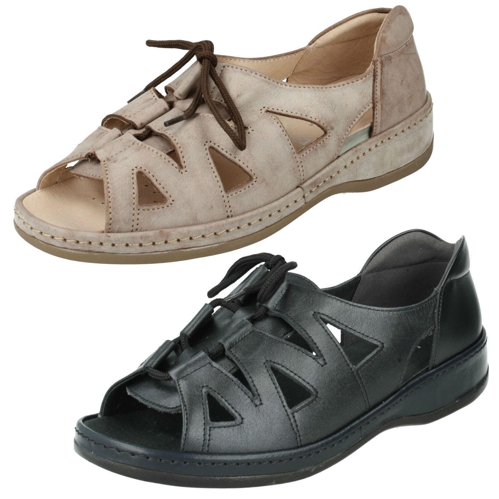 Sandpiper Cassie Heel Leather Upper / Lined 1