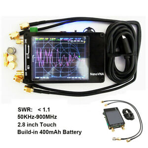 Vector-Network-Analyzer-2-8-034-LCD-50KHz-300MHz-For-NanoVNA-HF-VHF-UHF-Antenna