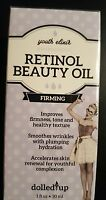Youth Elixir Retinol Beauty Oil Dolled Up 1 Fl Oz & Factory Sealed