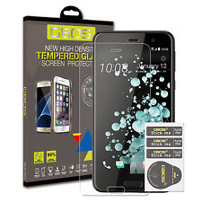 2 Pack GBOS® 100% Genuine Tempered Glass Ultra Screen Protector For HTC U PLAY