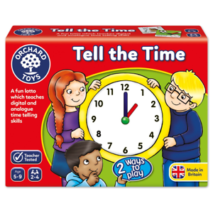 Orchard-Toys-Tell-The-Time-Analogue-and-Digital-Educational-Childrens-Game